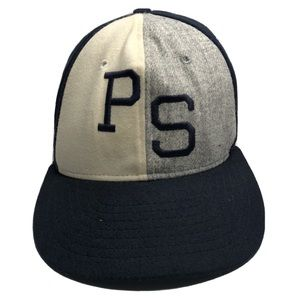 rare Vintage Penn State 6 Panel Wool Hat Small Fit